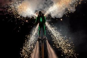 fireworks jetpack
