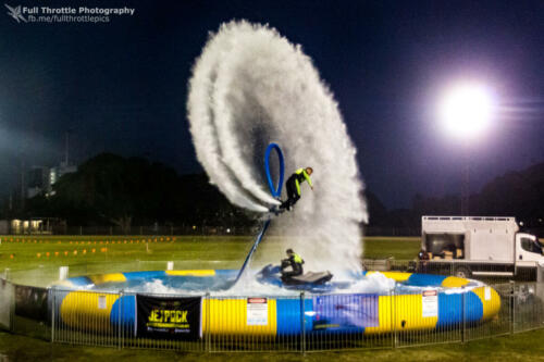 Jetpack entertainment Pool shows for events and shows